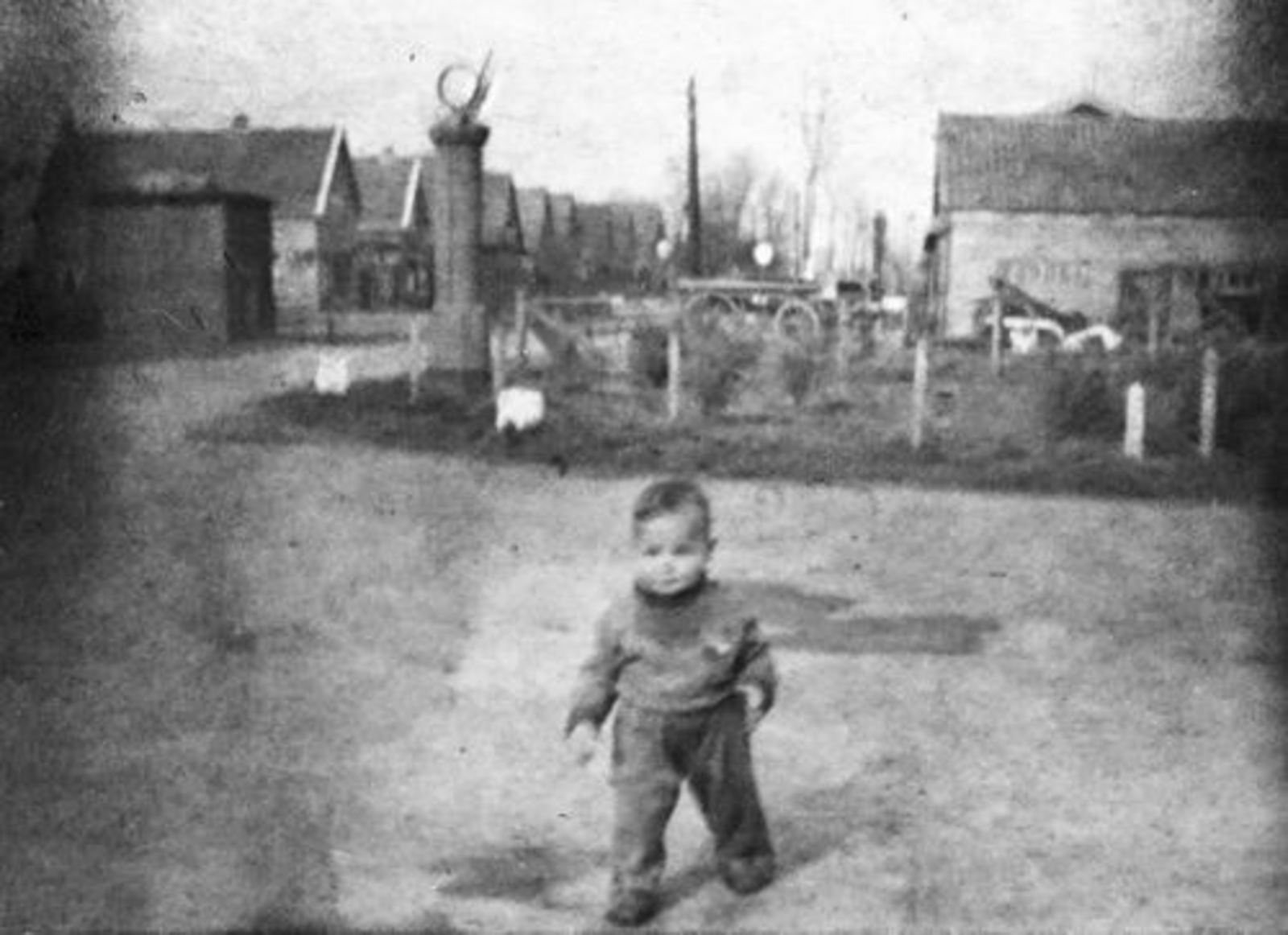 Kruisweg N 0300± 1942 kruising Aalsmeerderweg met Peuter Cees Stieva