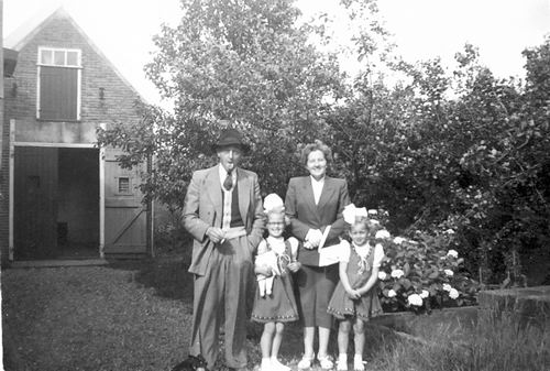 Kruisweg N 0983 1952 met Fam Galis en Spijker 05