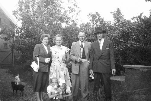 Kruisweg N 0983 1952 met Fam Galis en Spijker 08