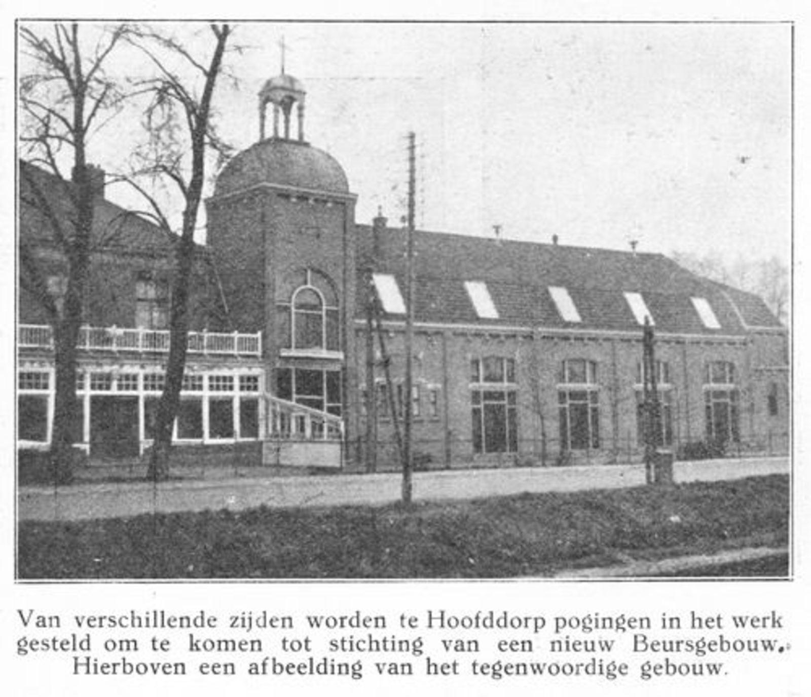 Kruisweg N 1007 1925 Beurs Toren