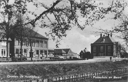 Kruisweg N 1007 1956 Beurs en Polderhuis