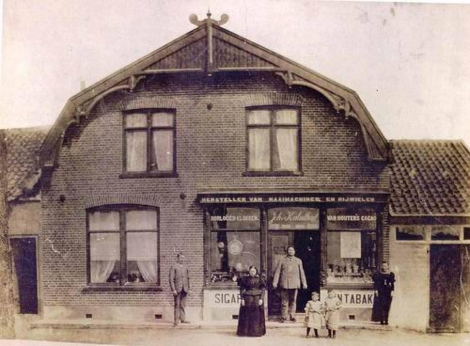 Kruisweg N 1047 1898± Winkel Joh v Kalmthout