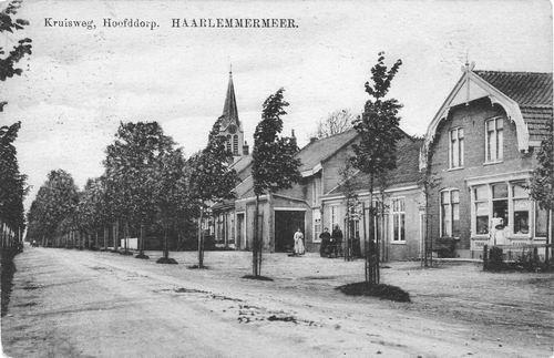 Kruisweg N 1047 1912 van Ruijgrok naar Westen