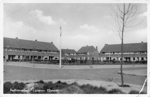 Lijsterstraat 1942 hoek Eksterstraat