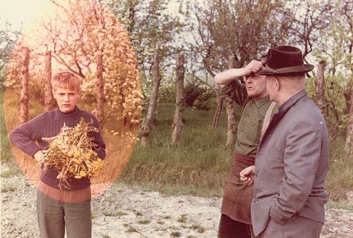 Linden Willem J vd 19__ met vader Pieter en Oom Laurens