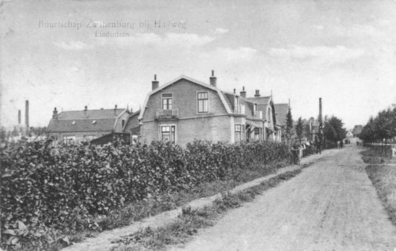 Lindenlaan O 0050- 1924 Zicht naar Ringdijk