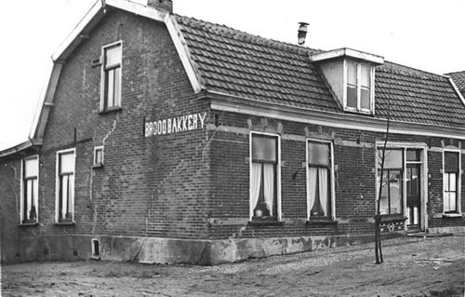 Lisserdijk 0057 1950± Bakkerij de Man