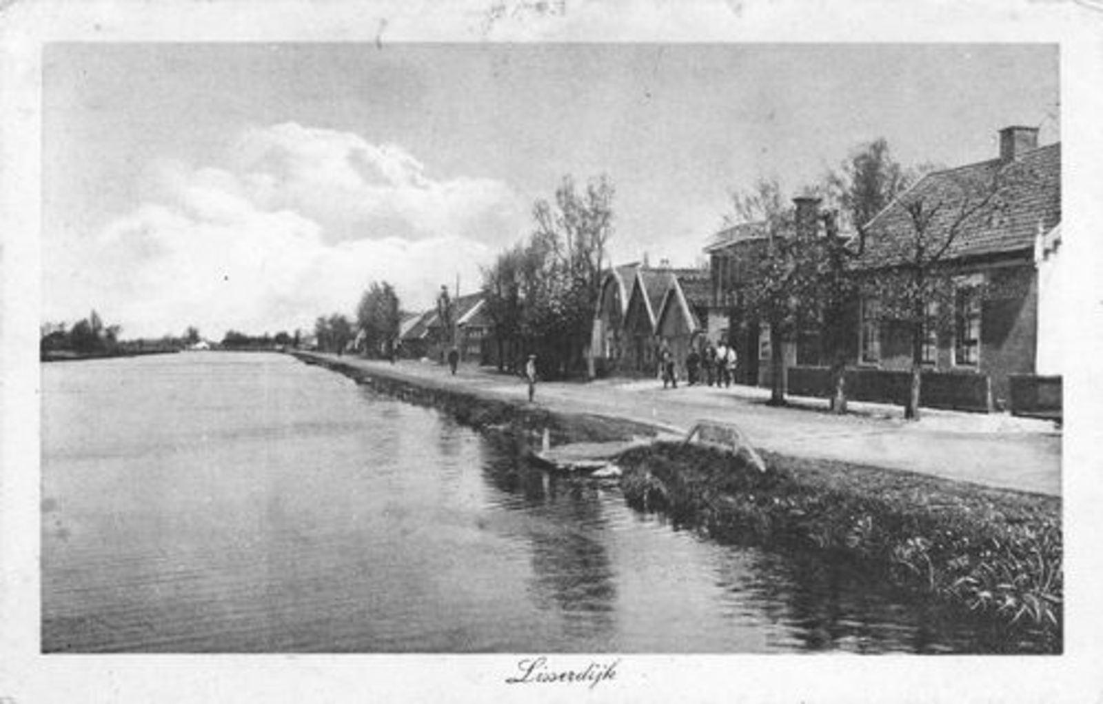 Lisserdijk 0534± 1928 Fa Baartman en Zicht naar Noorden