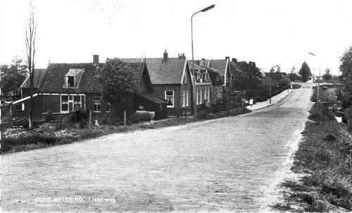 Lisserweg Z 0004+ 1959 Zicht vanaf Ringdijk