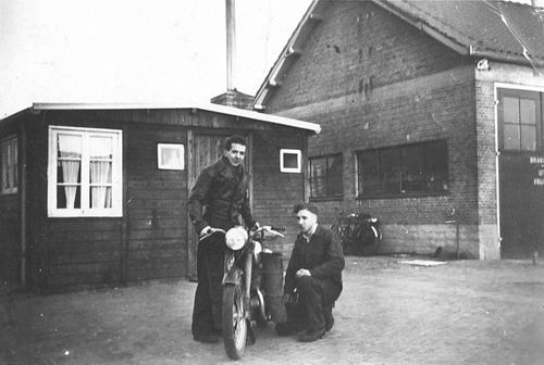 Manegelaan 1954 Dienstwoning op Gemeente Werf