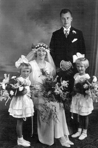 Mantel Jacob Klaaszn 1904 1933 trouwt Hazina Trijntje Spaargaren