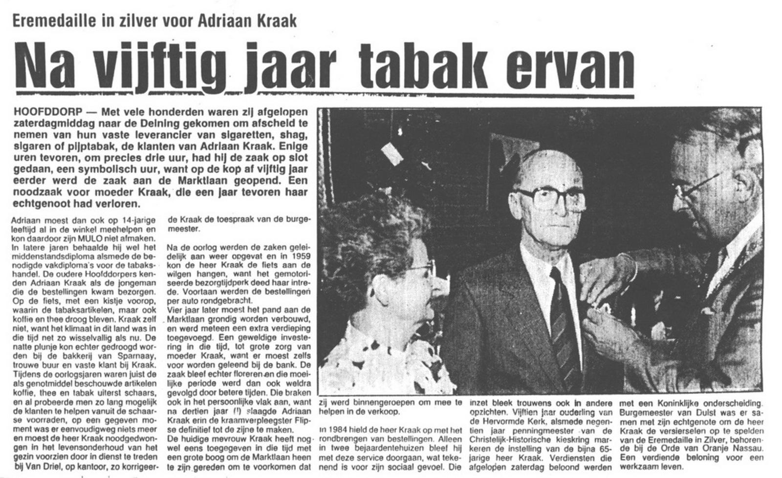 Marktlaan O 0022 1988 Sigarenboer Kraak 50jr Jub en Sluiting 02