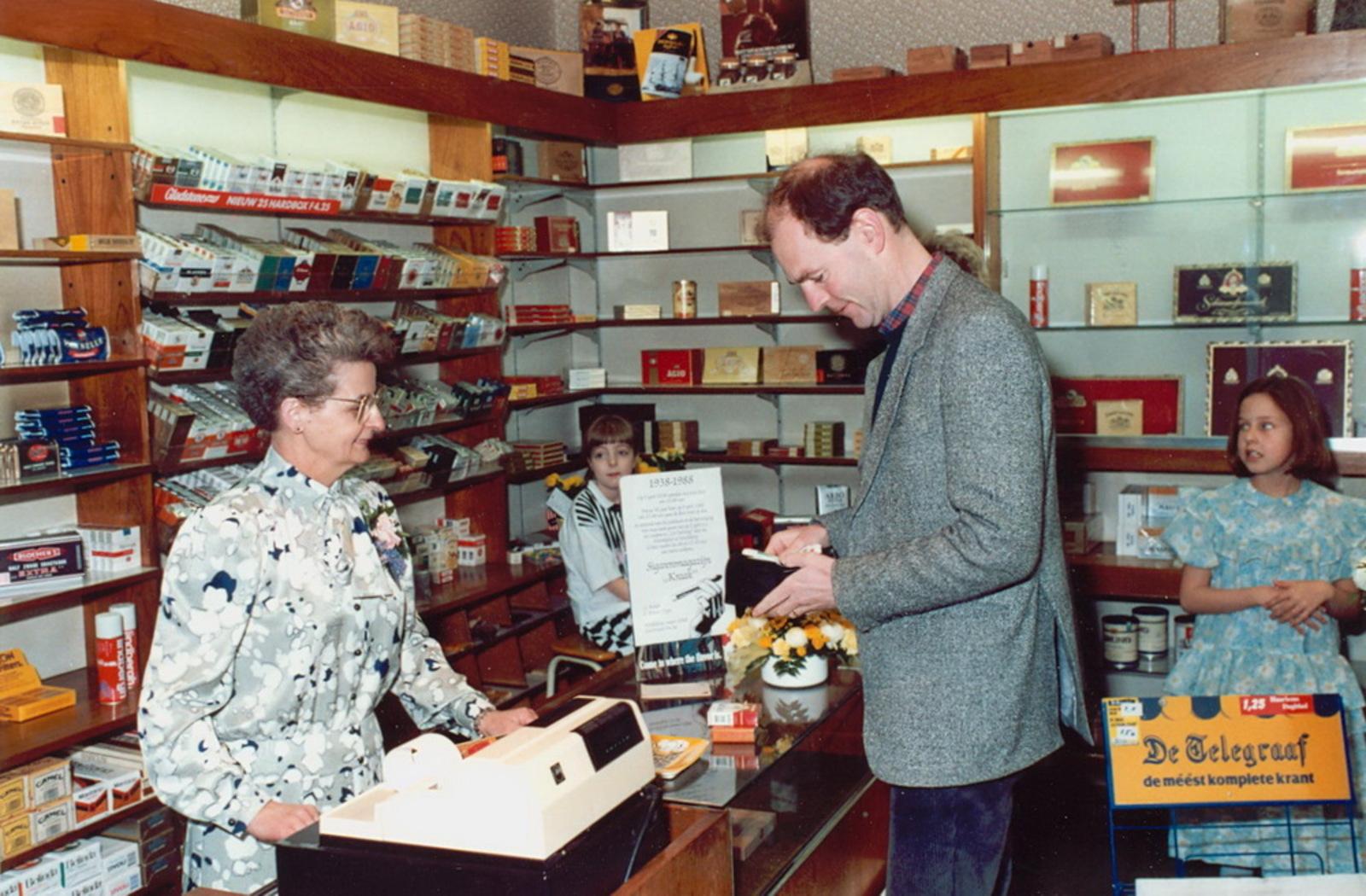 Marktlaan O 0022 1988 Sigarenboer Kraak 50jr Jub en Sluiting 14