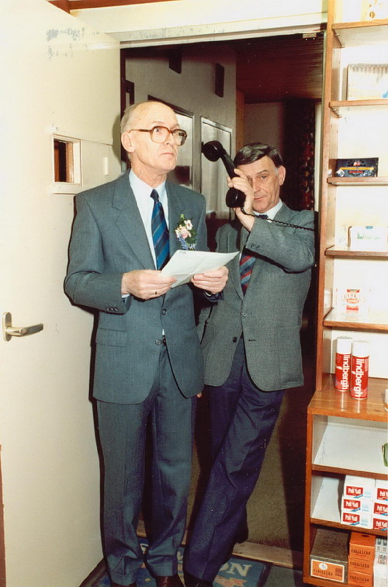 Marktlaan O 0022 1988 Sigarenboer Kraak 50jr Jub en Sluiting 18