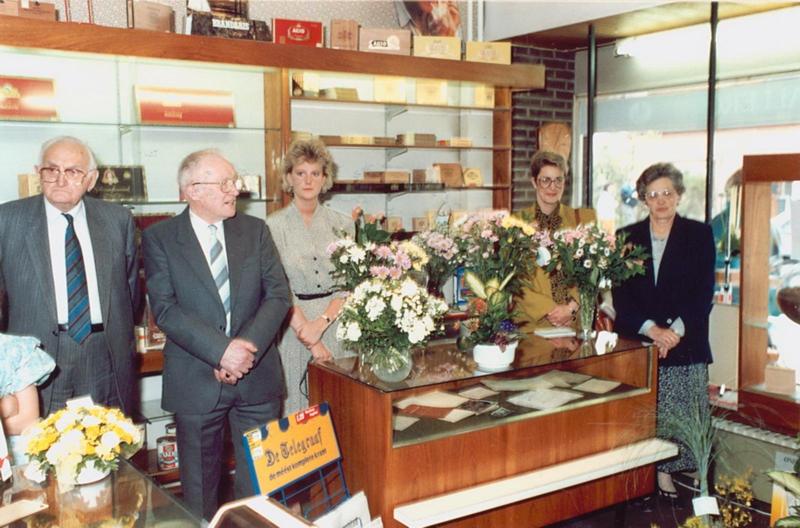 Marktlaan O 0022 1988 Sigarenboer Kraak 50jr Jub en Sluiting 21