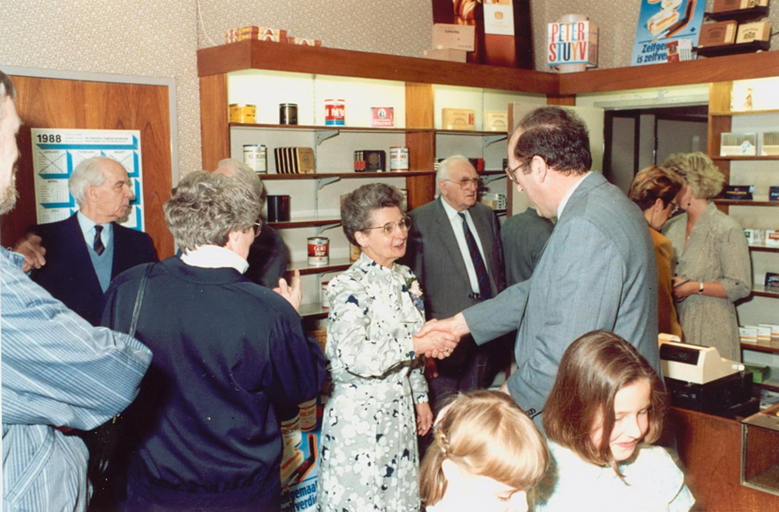 Marktlaan O 0022 1988 Sigarenboer Kraak 50jr Jub en Sluiting 24