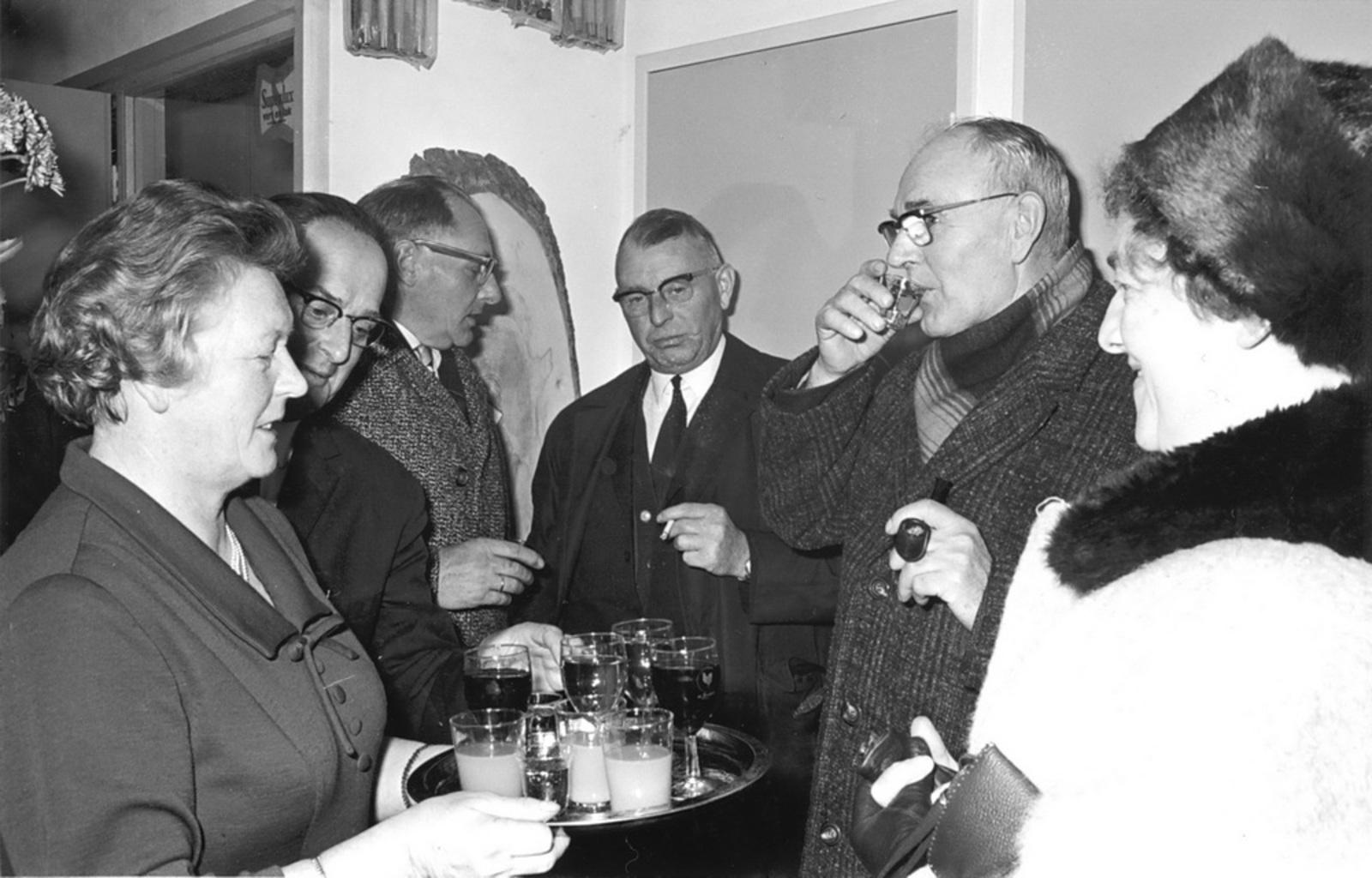 Marktlaan O 0024 1963 Opening Nieuwe Winkel v Scheppingen 05