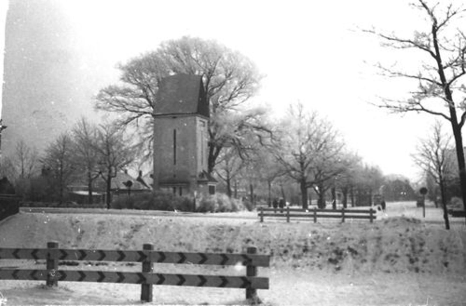 Marktplein C 1956± met Electriciteits Torentje