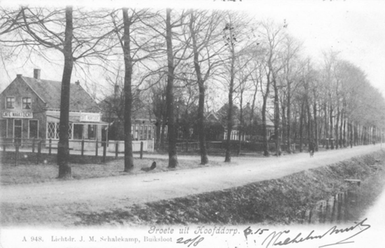 Marktplein N 0031-15± 1904 zicht langs Kruistocht