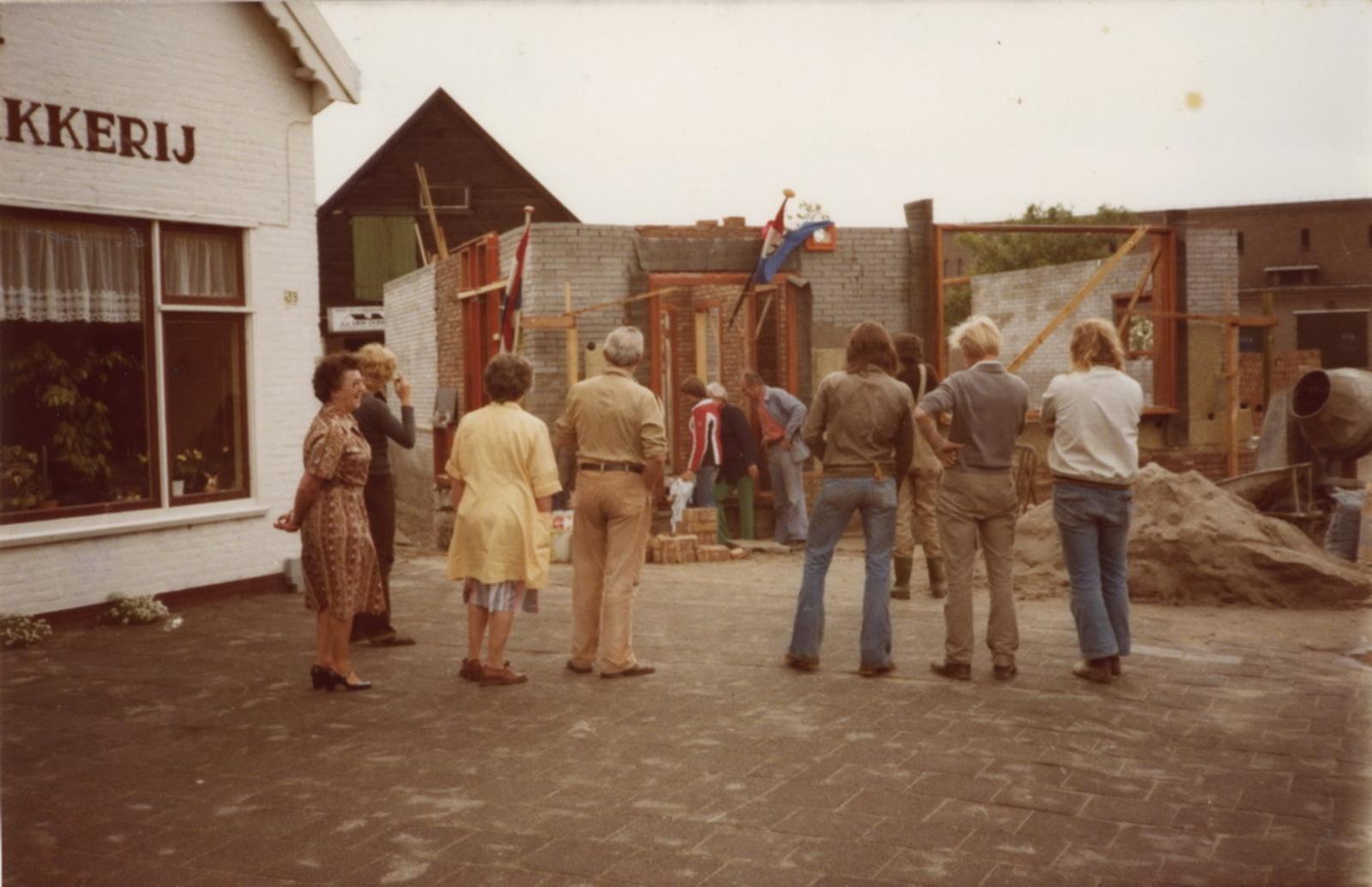 Marktplein N 0037 1978 Nieuwbouw huize aannemer den Ouden 06