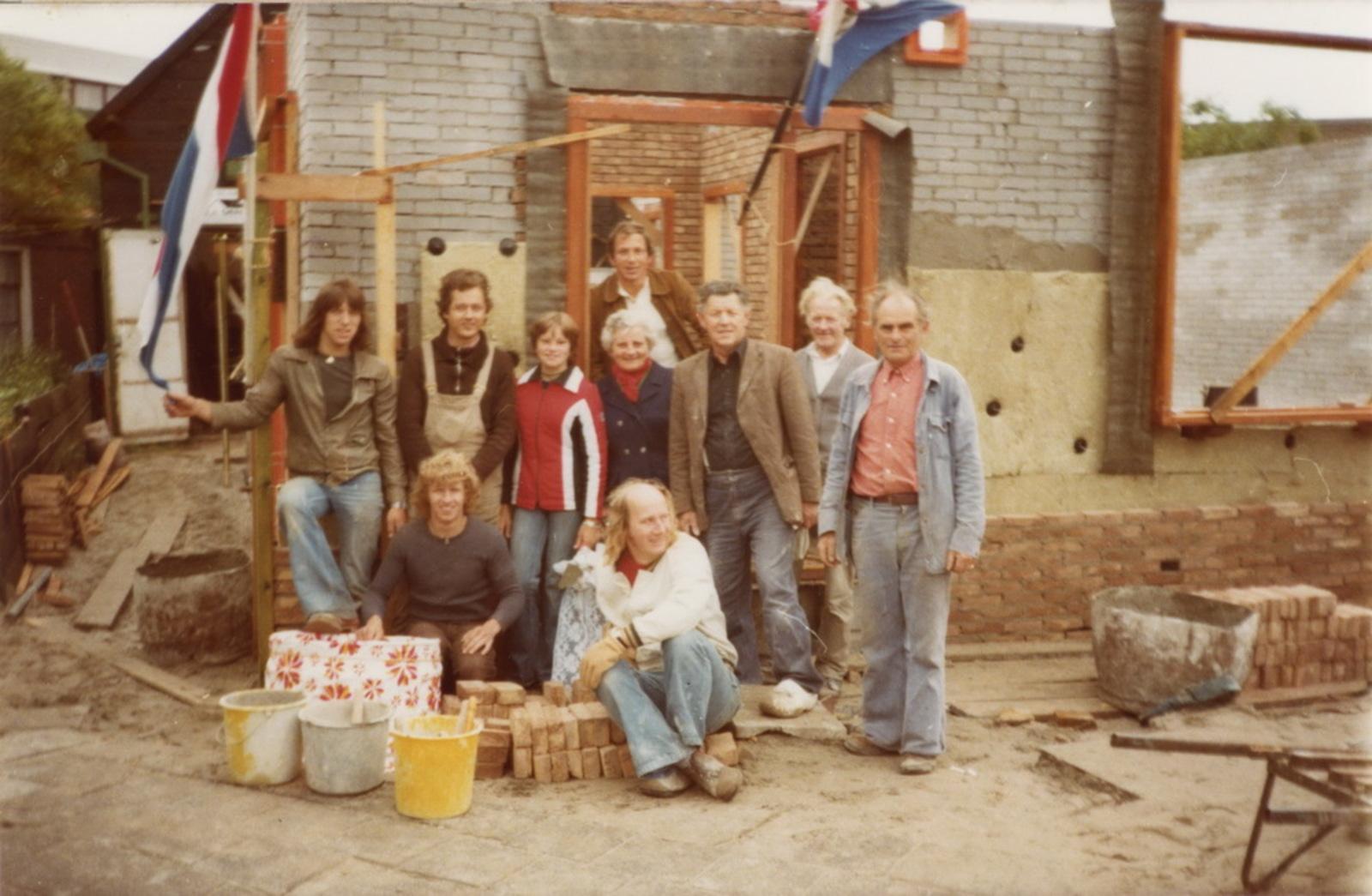Marktplein N 0037 1978 Nieuwbouw huize aannemer den Ouden 07