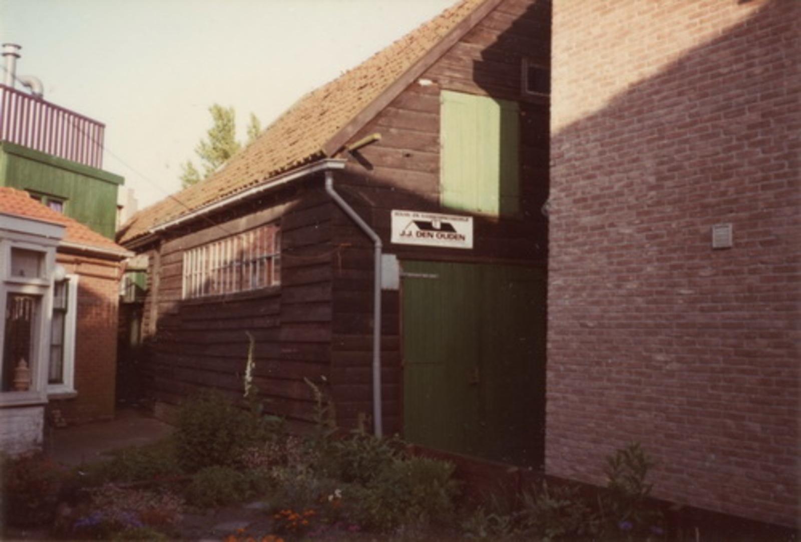 Marktplein N 0037 1978 Werkplaats Aannemer Jan J den Ouden