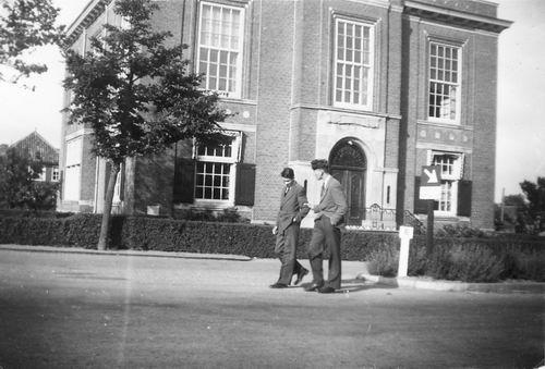Marktplein N 0047 1949 Polderhuis met Onbekenden