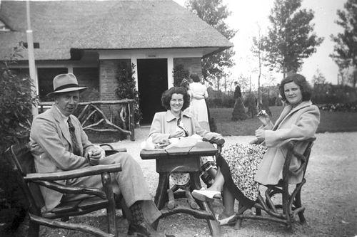 Meer Fem vd 1951 naar Avifauna met tante Anna en Rietje Boon 03