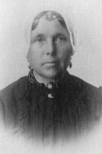 Mesman Gerardus Th 1850 19__ Portret vrouw Adriana Wichert 02