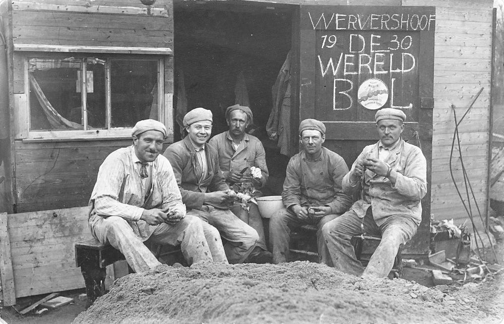 Mienis Firma 1930 Aardappeljassen in Wervershoof 02