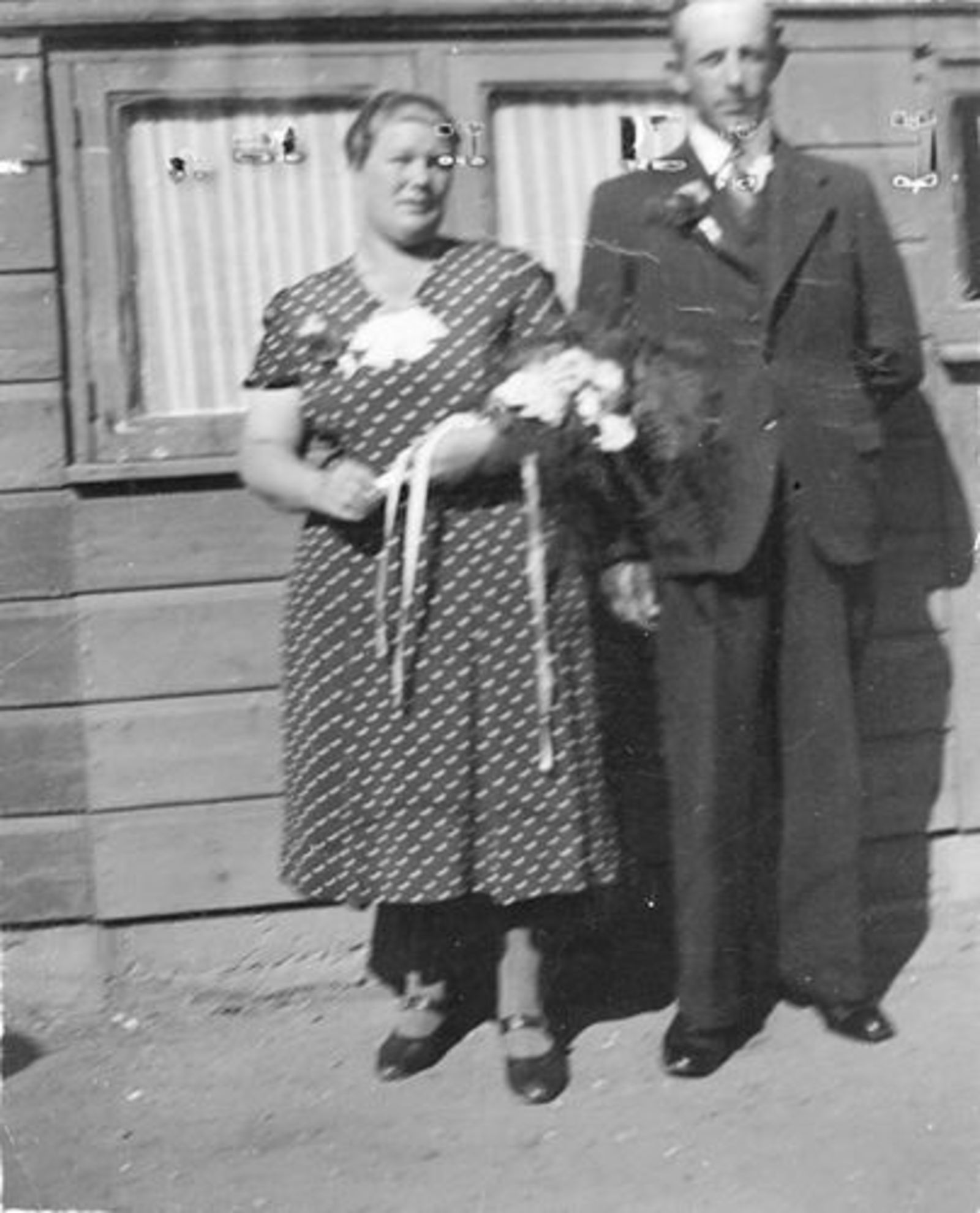 Moren - Bliek Hendrika 1908 19__ met man Jan vd Moren