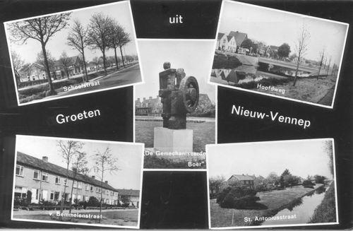 Nieuw Vennep 1967 5-luik