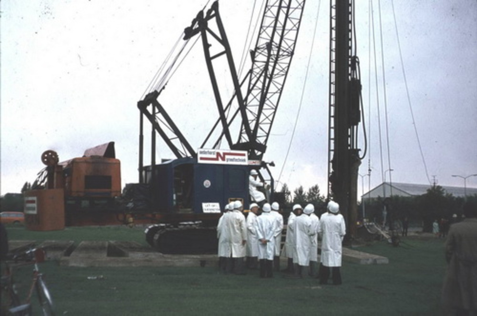 Nieuweweg O 0070 1979± Eerste Paal Nieuwe Raadhuis 01