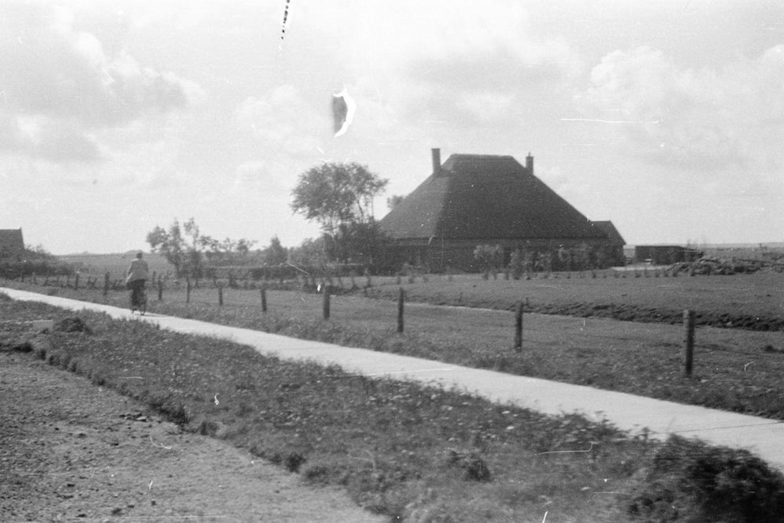 <b>ZOEKPLAATJE:</b>Onbekend Boerderij Stolp Vincent v Rijn