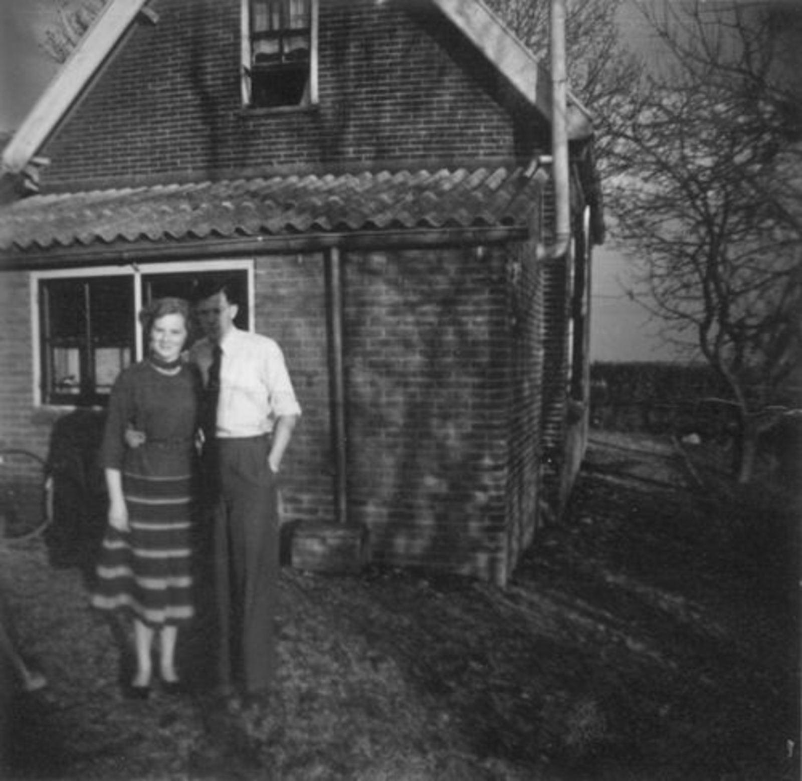 Onbekend Sloterweg Huize Bruis v Leeuwen Huisnr onbekend 1953±