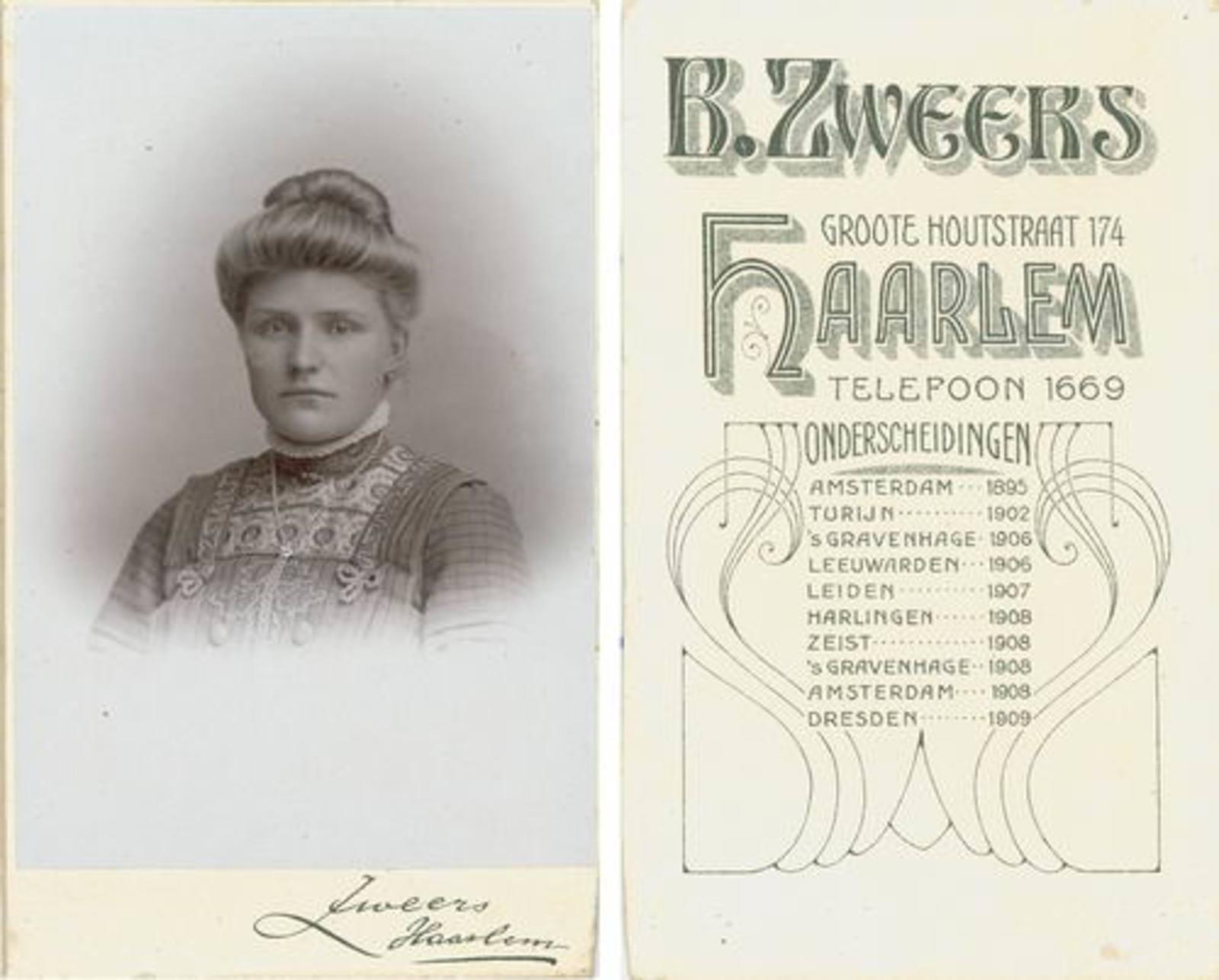 Ouden Hillegonda Dirkdr den 1889 19__ Portret