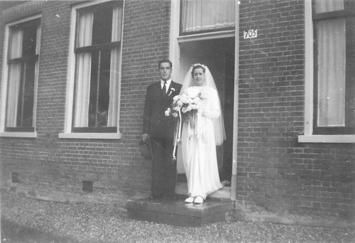 Pijpers Cees 1924 1950 trouwt Nel Calvelage 02