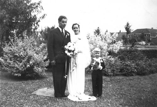 Pijpers Cees 1924 1950 trouwt Nel Calvelage 05