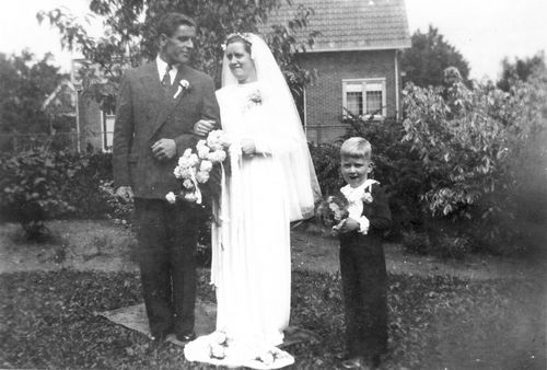Pijpers Cees 1924 1950 trouwt Nel Calvelage 06