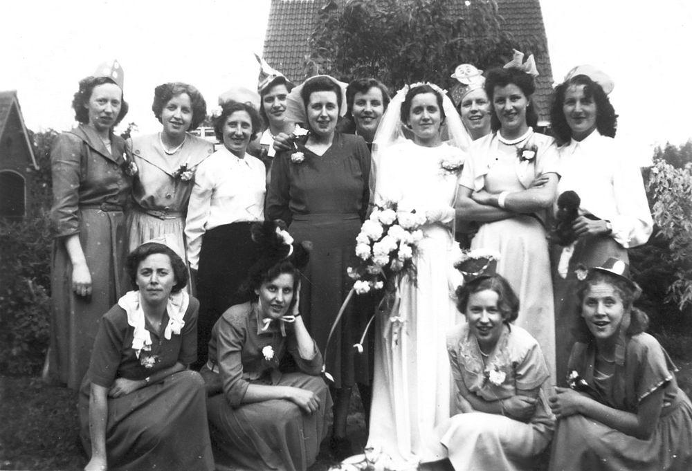 Pijpers Cees 1924 1950 trouwt Nel Calvelage 08