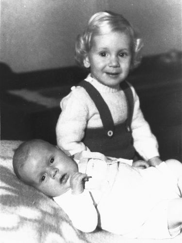 Pijpers Cees 1924 1953 Kinderen Ben en Rob