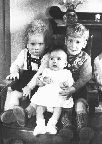 Pijpers Cees 1924 1955 Kinderen Rob Veronica en Ben