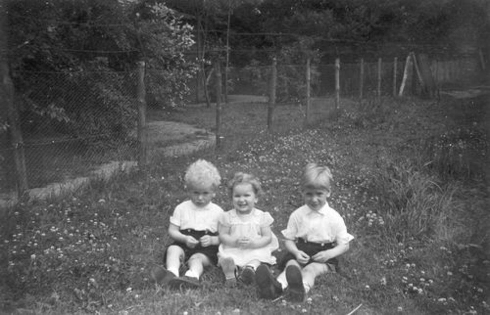 Pijpers Cees 1924 1956± Kinderen Rob Veronica en Ben