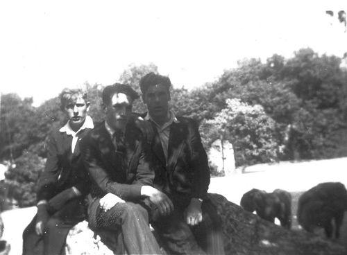 Pijpers Cees 1924 19__ Fietsvakantie met broer Dirk en Jan Hulsbosch 01