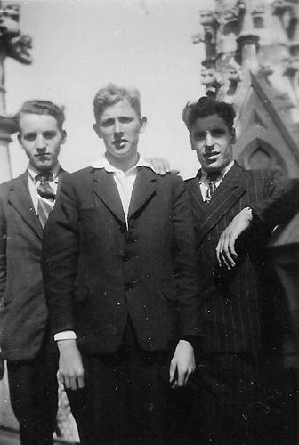 Pijpers Cees 1924 19__ Fietsvakantie met broer Dirk en Jan Hulsbosch 02