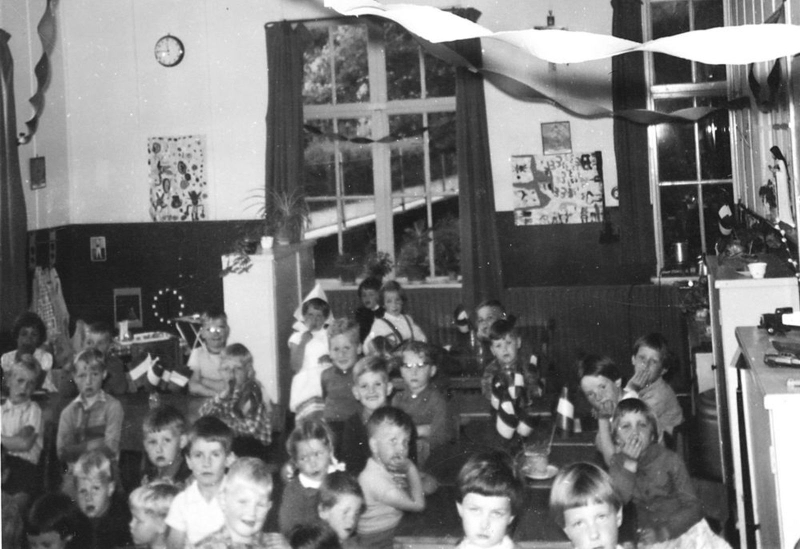 Pijpers Rob 1953 1961± Klassefoto Lagere School Aalsmeer