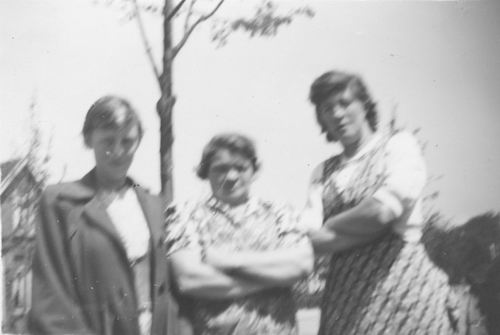Pol - Slinger Lena vd 1914 1956 met buurtjes Speelman en v Krimpen