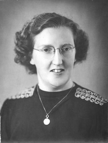 Poortvliet Daan 1916 19__ Portret met vrouw Louize J E Pruijs 02