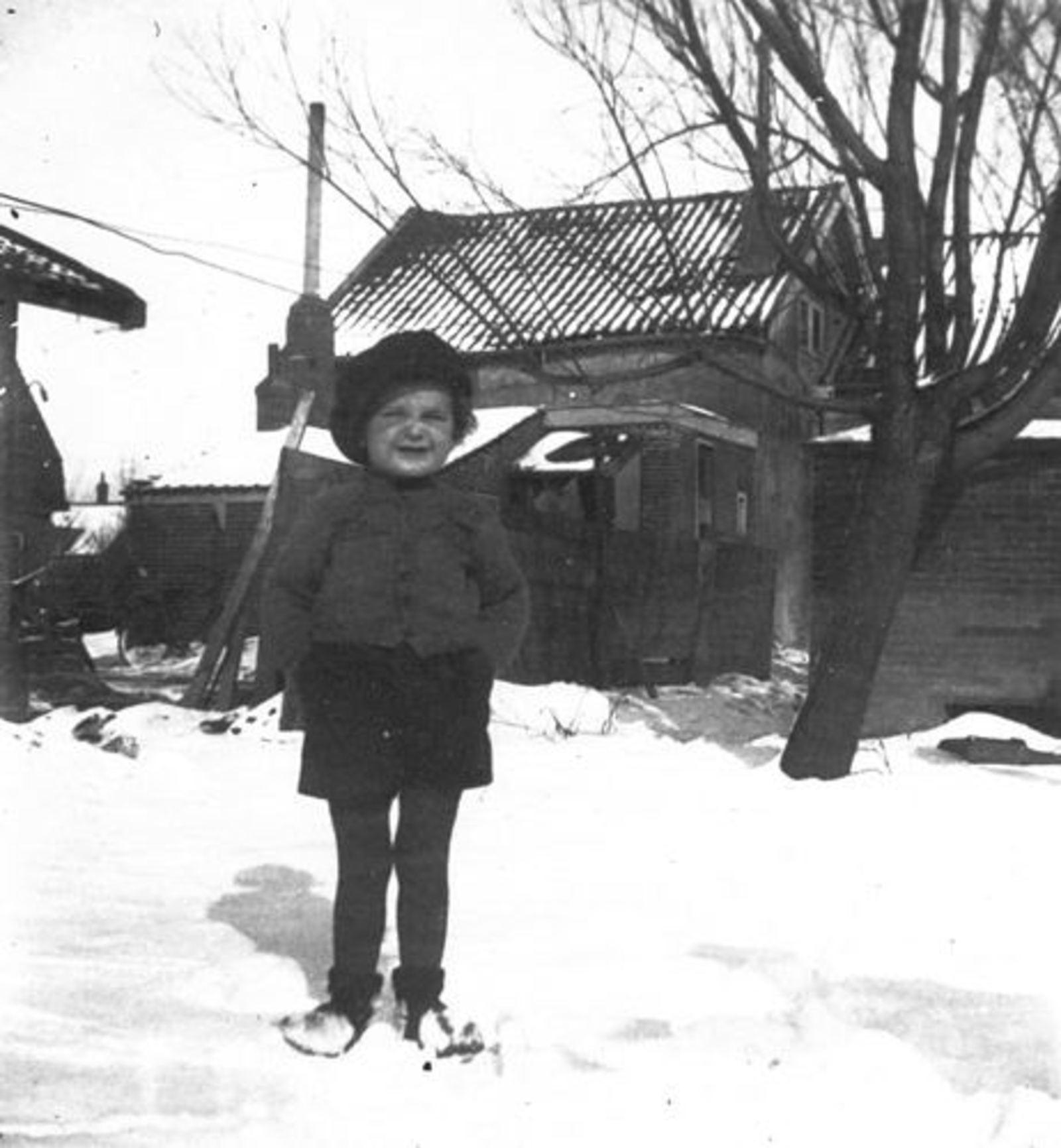Raadhuislaan 0017± 19__ met Onbekend in de Sneeuw