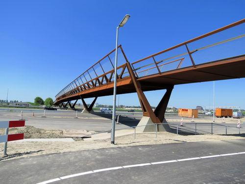 Rijksweg A4 2013 Nieuwe Fietsbrug 04